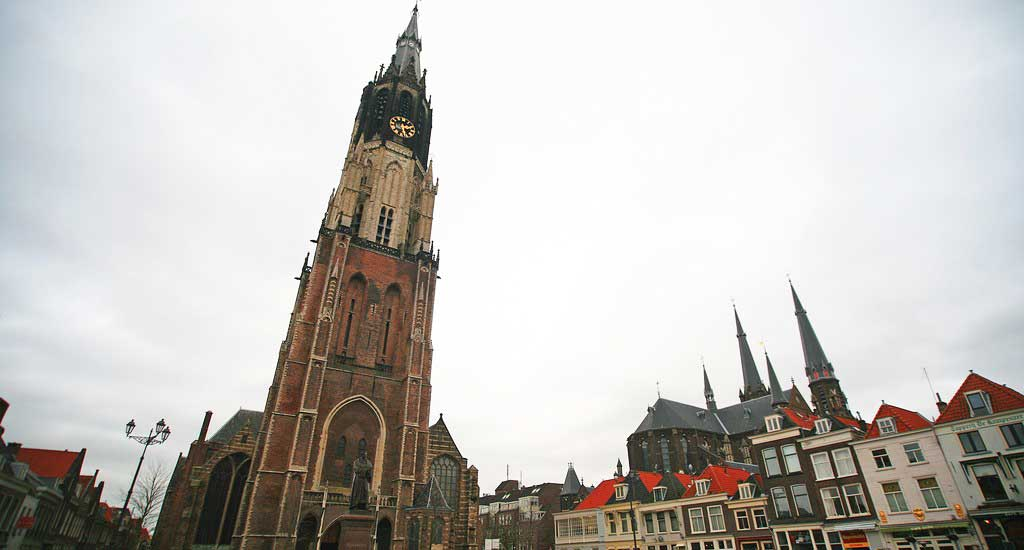New Church on Delft Tour